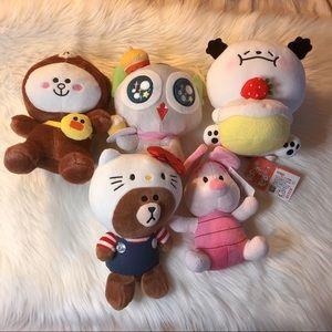 NEW Plushie / Stuffed Animal Bundle Lot